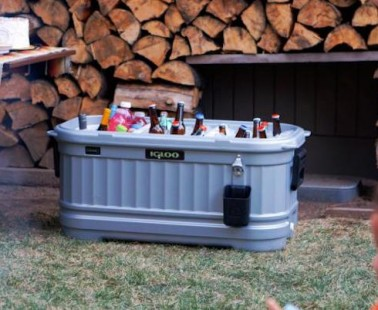 Make Your Patio Party A Little Cooler With The Igloo Party Bar Cooler