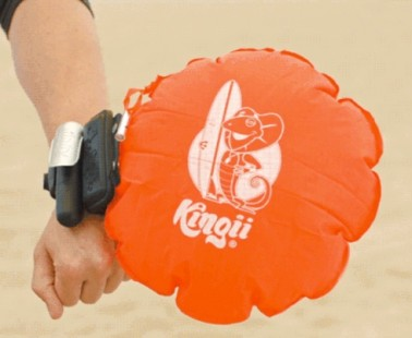 Rise to the Top with This Compact Inflatable Safety Device