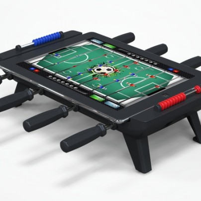 This Gadget Turns Your iPad Into A Foosball Table
