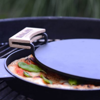 Cook A Perfect Pizza On The Stove In Just 3 Minutes With IRONATE!