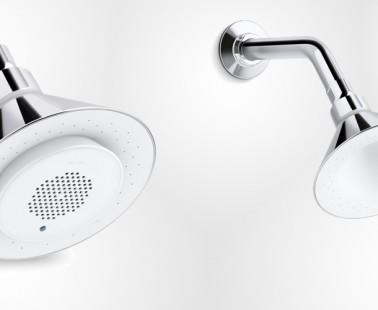 The Moxie Showerhead + Wireless Speaker by Kohler
