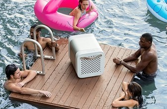 Full-Size Cooler/Speaker Pumps Food and Music into Your Party