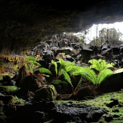 Lava Tube Caves In Tulelake, California