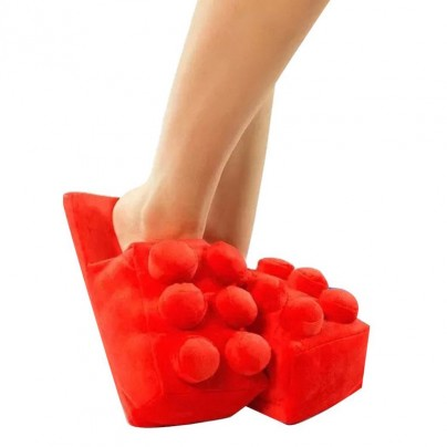 LEGO Slippers Will Spare Parents The Pain Of The Plastic Pieces