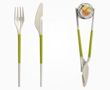 Fork + Knife = Chopsticks!
