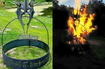 Have The Eye Of Sauron Or The Witch-King Watch Over Your Next Fire Pit