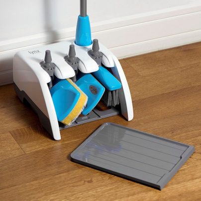 The Lynx Dock Home Cleaning Set Is A Broom, Mop And Dusters All In One!