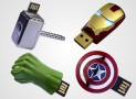 The Marvel Avengers USB Flash Drives