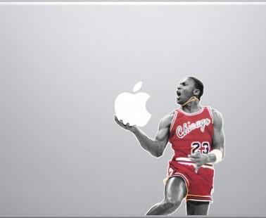 Michael Jordan MacBook Decal