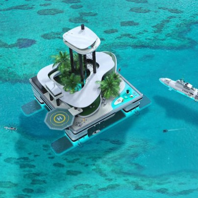 This Mobile Private Island Is Ready To Launch