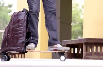 This Backpack has a Built-In Skateboard that will make your Commute Epic