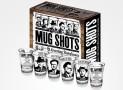 Infamous Mobsters Mug Shot Glasses