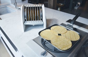 The Nuni Toaster Is a Toaster for Your Tortillas to Give You Perfect, Hot Tortillas at Home