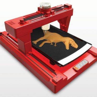 The PancakeBot Will PRINT Your Pancakes For Breakfast, In Any Shape You Can Draw