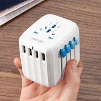 The Passport Is a Fail-Safe Universal Travel Adapter and Charger with an Auto-Resetting Fuse