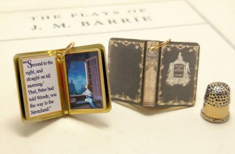 Beautiful Handcrafted Miniature Pendants Of Your Favorite Books