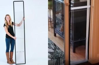 Make A Pet Door With Your Sliding Glass Door With Balcony Pets!
