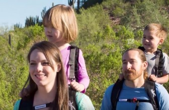 The Piggyback Rider Lets You Carry Your Child On Your Back Effortlessly
