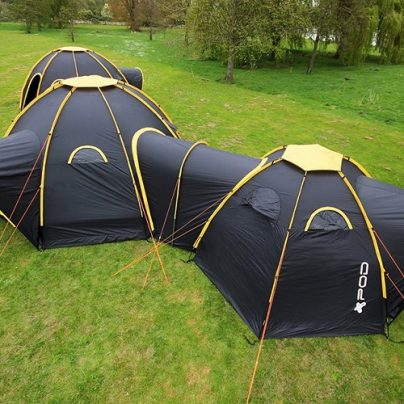 Have A Truly Epic Camping Trip With The POD Tents