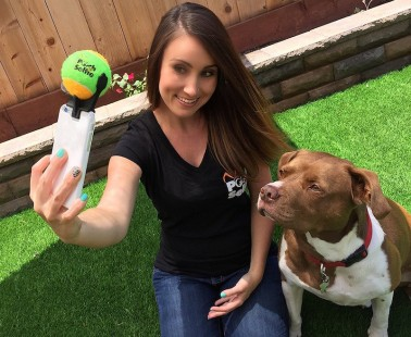 The Pooch Selfie Lets You Take the Perfect Dog Photos with Your Smartphone!