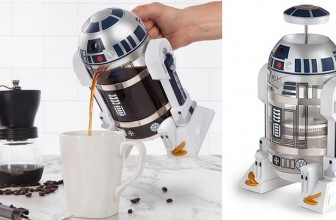 The Force Will Definitely Be with You When You Use This R2-D2 Coffee Press