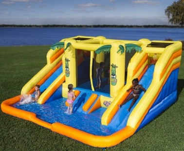 Inflatable Bouncer With Water Slides by Blast Zone