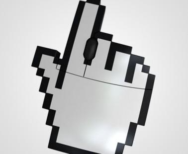Cursor Pointer Finger Pixel Mouse