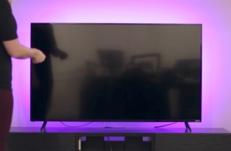 The Luminoodle Is an RGB, USB, LED Backlight to Give Your TV a Colorful, Luxurious Feel