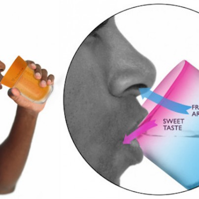 This Cup Tricks The Brain Into Thinking You're Drinking Flavored Water
