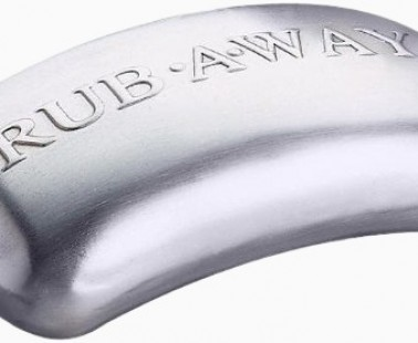 Rub Away The Odors With The Stainless Steel Soap Bar