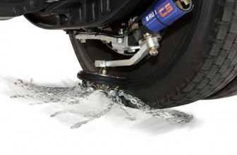 Never Get Stuck In Snow Again With The ROTOGRIP Automatic Snow Chain System