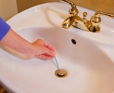 The Sani Sticks Are Disposable Drain Cleaners and Deodorizers to Keep Your Drains Clean and Odor-Free