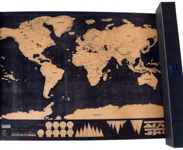 The Scratch Off Travel Map For Your Wanderlust