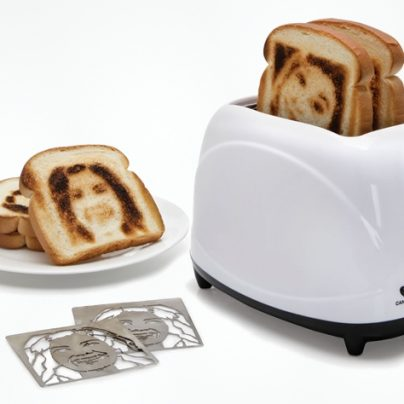 Brand Your Bread With The Selfie Toaster