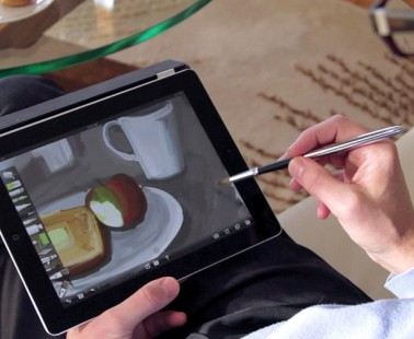 Paint On Your iPad With The Sensu Brush