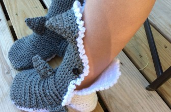 Shark Slippers Make For A Fun And Cozy Gift This Christmas