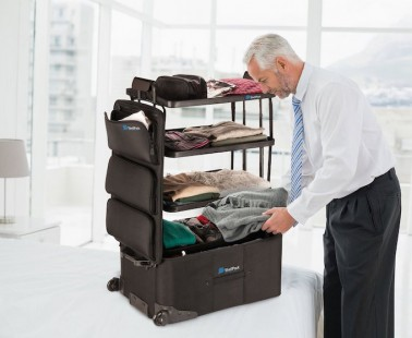 Stack and Pack with This Innovative Luggage System