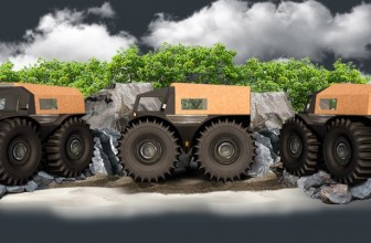 The SHERP Explorer Tank Takes You Where Humans Have Never Gone Before
