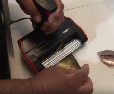 The SKINZIT Electric Fish Skinner Is The Easiest Way To Remove Rib Bones And Skin From Your Fillet