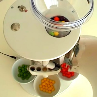 Technology Finally Brings Us A Skittles Sorting Machine