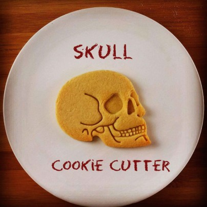 Have A 'Spooktacular' Halloween With These Anatomical Human Skull Cookie Cutters
