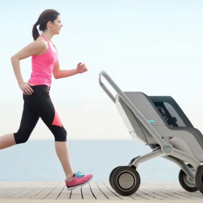 Finally, a Smart Stroller That Lets You Go Hands-Free