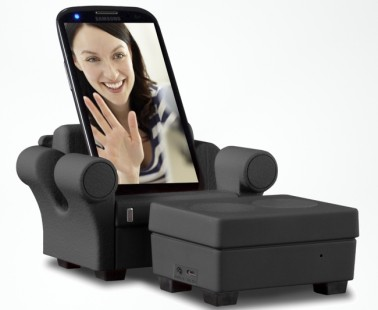 The Smartphone Sofa That Will Charge, Play Music And Take Calls