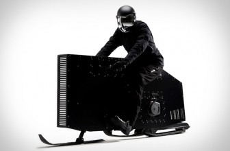 This Sleek Snowmobile Will Take Your Winter Sporting to the Next Level