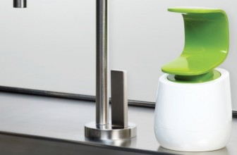 Never Risk Spreading Germs Again With This One-Handed C-Pump Soap Dispenser