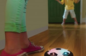 This Light-Up Gliding Soccer Ball Just Changed The Game