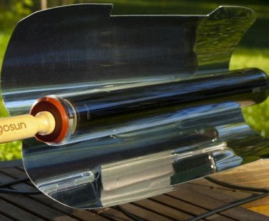 The Portable Solar Cooker That Can Cook Two Sausages In Ten Minutes