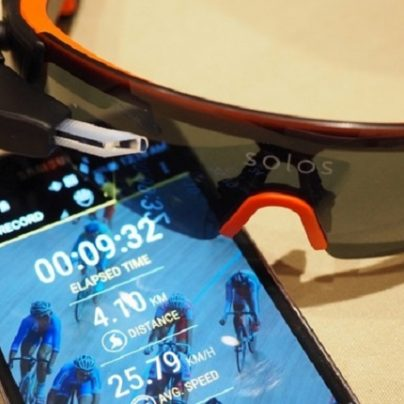 Solos: The Smart Cycling Glasses With A Heads-Up Micro-Display