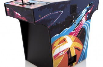 "The ""Space Race"" Cocktail Arcade Machine Comes With Over 250 Classic Games"