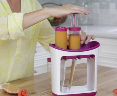 Squeeze Station is Perfect For Your Picky Eaters